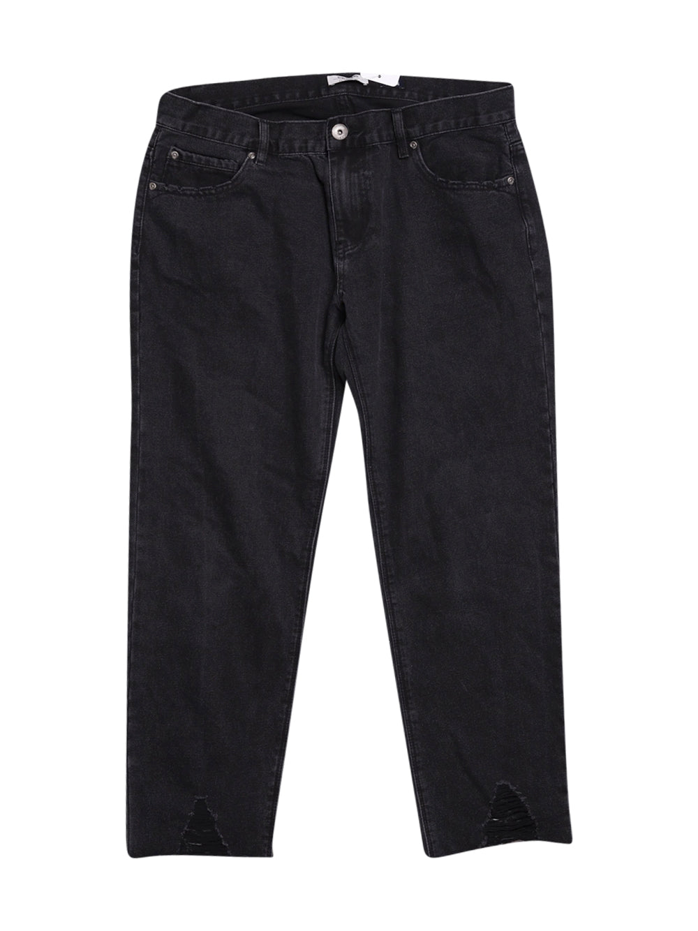 Front photo of Preloved girl friend Black Woman's trousers - size 14/XL