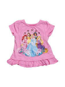 Front photo of Preloved Disney Pink Girl's outfit - size 2-3 yrs