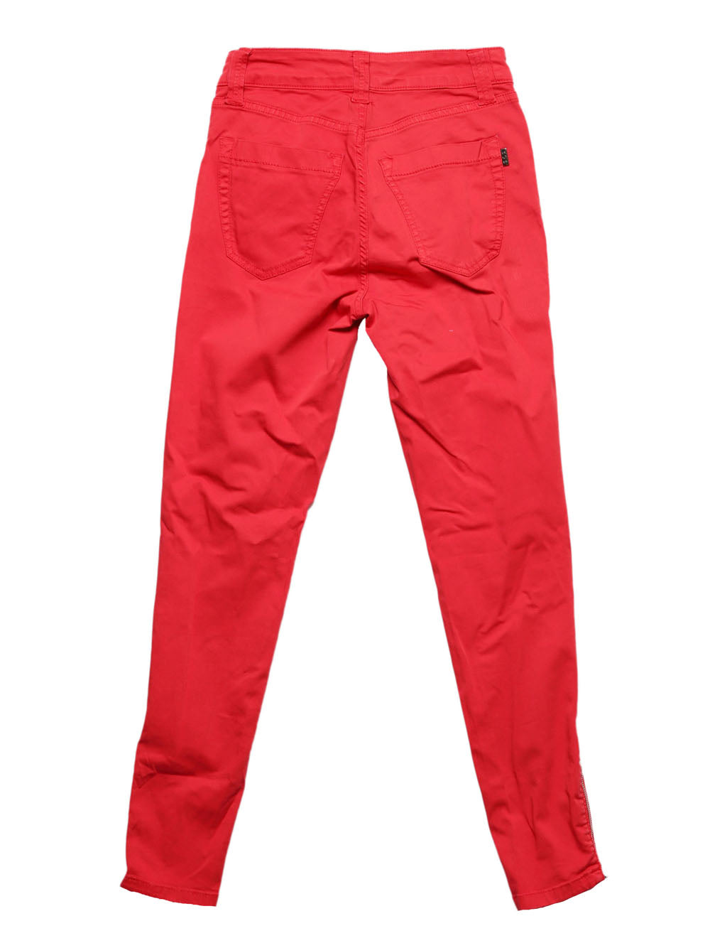 Back photo of Preloved S.O.S BY ORZA STUDIO Red Woman's trousers - size 8/S