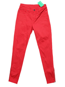 Front photo of Preloved S.O.S BY ORZA STUDIO Red Woman's trousers - size 8/S
