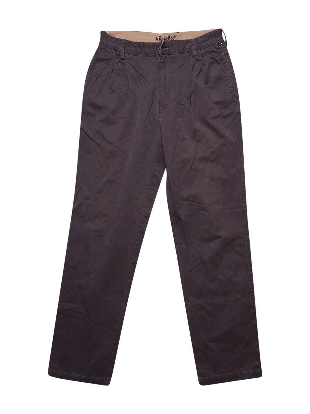 Front photo of Preloved Avirex Grey Man's trousers - size 34/XS