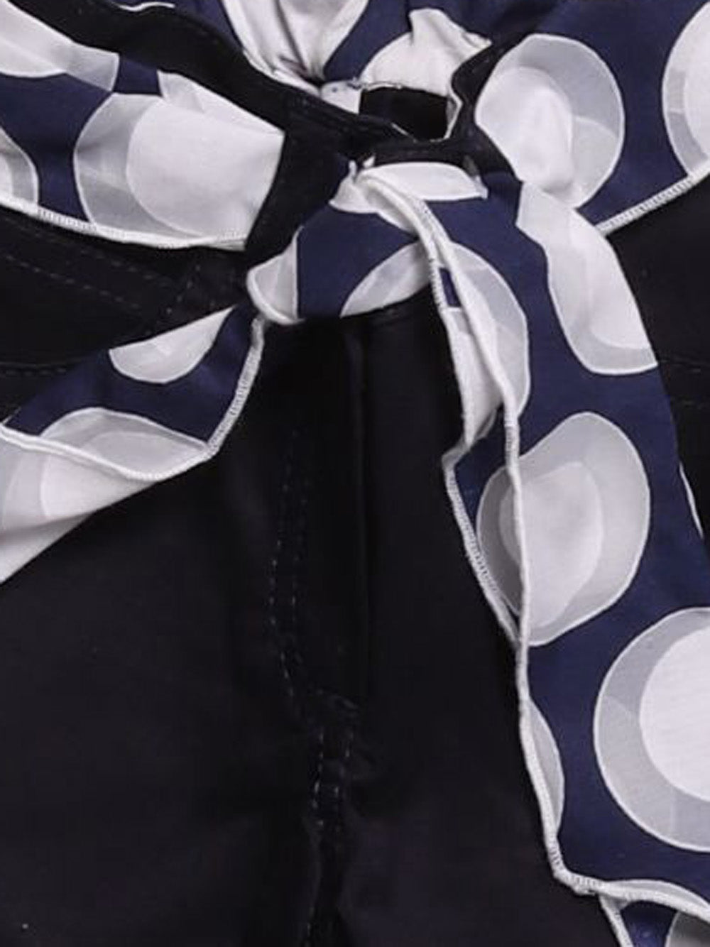Detail photo of Preloved My Collections Blue Girl's trousers - size 12-18 mths