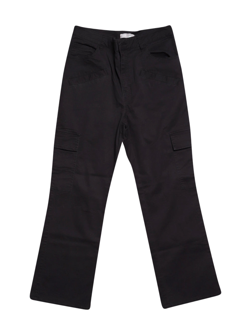 Front photo of Preloved Asos Black Woman's trousers - size 10/M