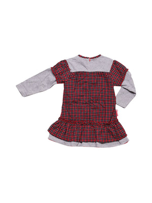 Back photo of Preloved Alphabet Red Girl's dress - size 18-24 mths