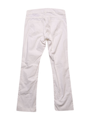 Back photo of Preloved Kappa White Woman's trousers - size 10/M