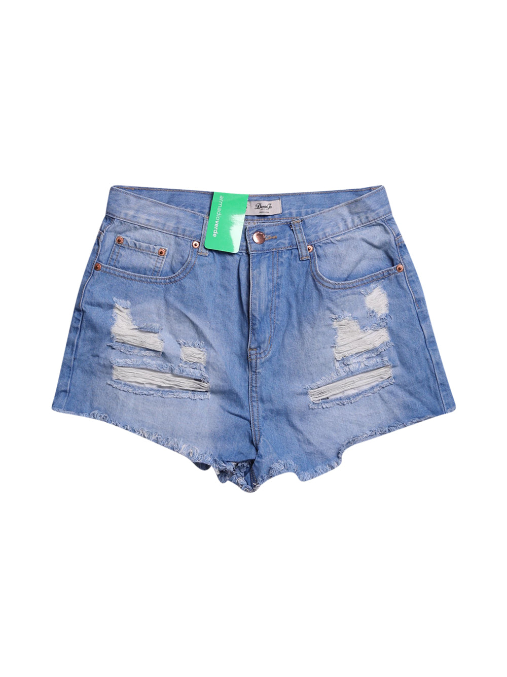 Front photo of Preloved denim&co Blue Woman's shorts - size 12/L