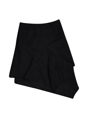 Back photo of Preloved Sisley Black Woman's skirt - size 6/XS
