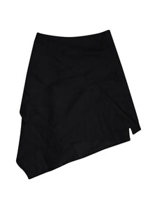 Front photo of Preloved Sisley Black Woman's skirt - size 6/XS