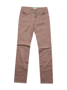 Front photo of Preloved Carlo Chionna (9.2) Beige Woman's trousers - size 8/S
