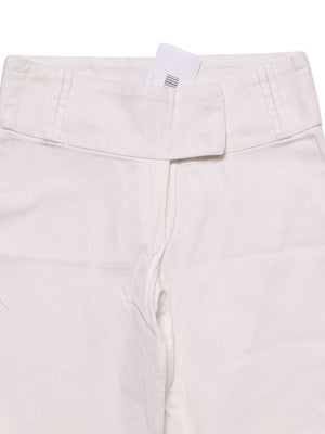 Detail photo of Preloved Rinascimento - Made In Italy White Woman's trousers - size 6/XS