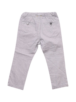 Back photo of Preloved Chicco Grey Girl's trousers - size 18-24 mths