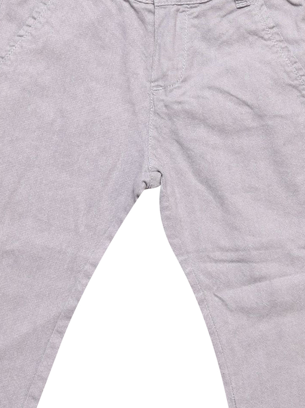 Detail photo of Preloved Chicco Grey Girl's trousers - size 18-24 mths