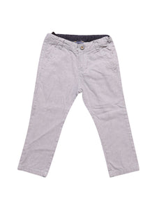 Front photo of Preloved Chicco Grey Girl's trousers - size 18-24 mths