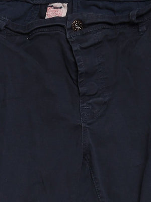 Detail photo of Preloved AUTHENTIC Blue Woman's trousers - size 10/M