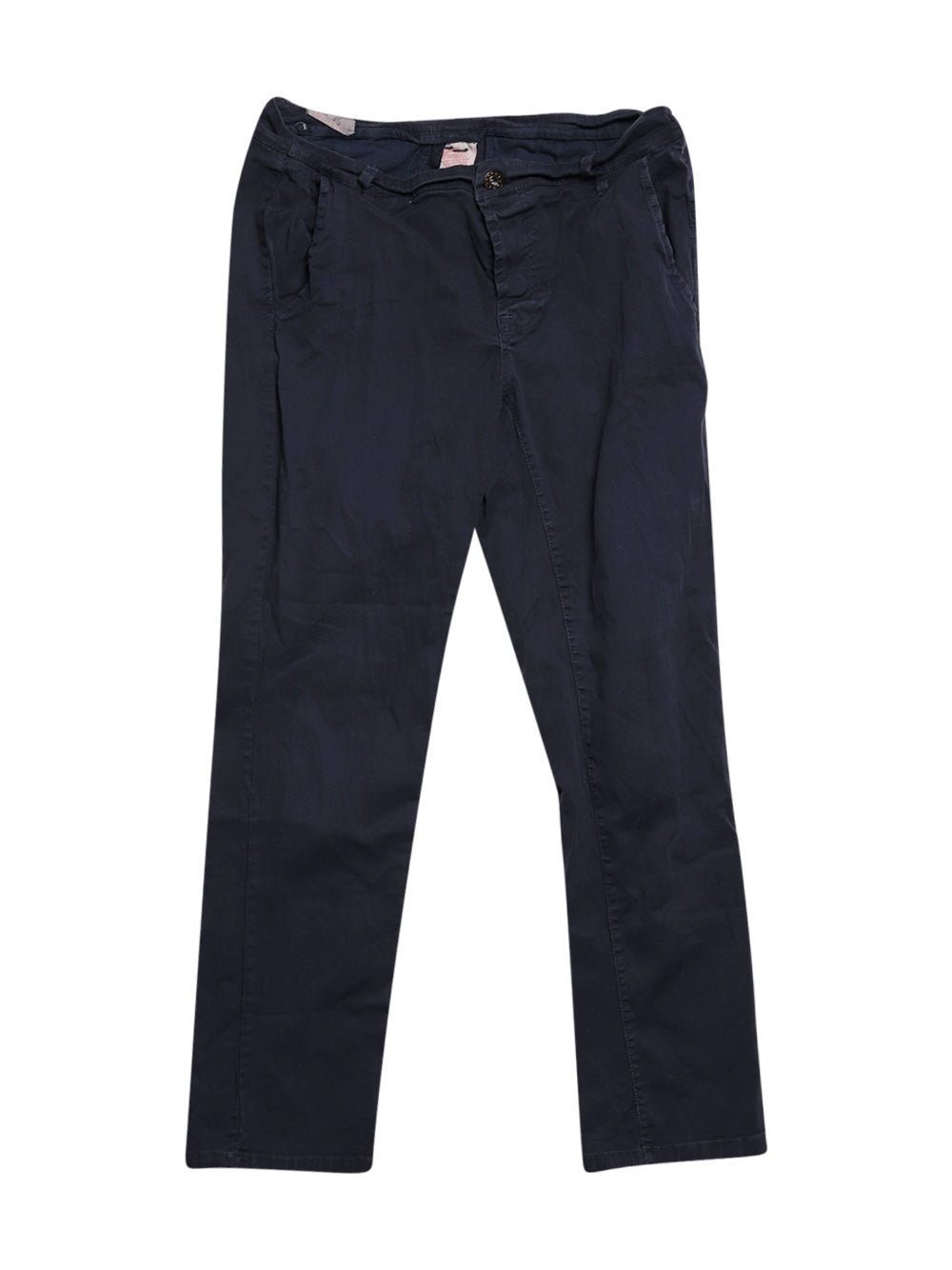 Front photo of Preloved AUTHENTIC Blue Woman's trousers - size 10/M