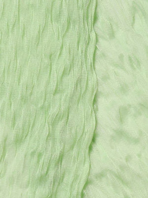 Detail photo of Unworn lamberto conti Green Woman's scarf - size one-size