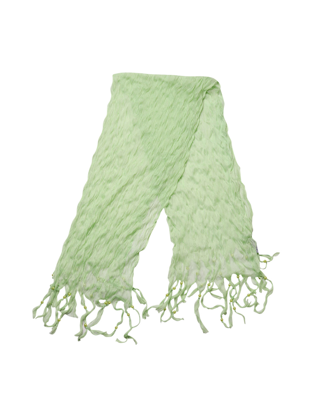 Front photo of Unworn lamberto conti Green Woman's scarf - size one-size
