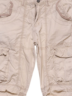 Detail photo of Preloved Boxeur Des Rues Beige Woman's trousers - size 8/S