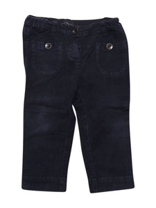 Front photo of Preloved babe & tess Blue Boy's trousers - size 12-18 mths
