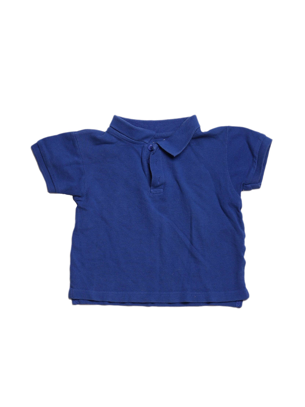 Front photo of Preloved COOL Blue Boy's polo - size 4-5 yrs