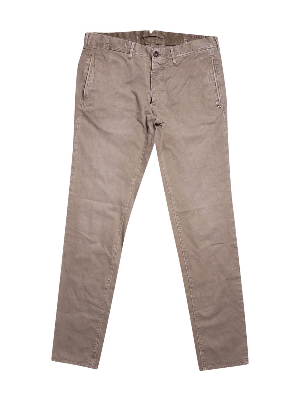 Front photo of Preloved Incotex Beige Man's trousers - size 40/L