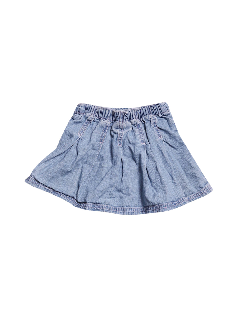 Front photo of Preloved Next Light-blue Girl's skirt - size 12-18 mths