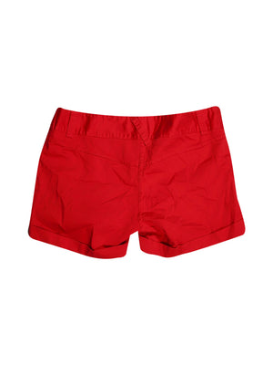 Back photo of Preloved Bloom Red Woman's shorts - size 10/M