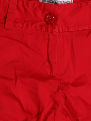 Detail photo of Preloved Bloom Red Woman's shorts - size 10/M