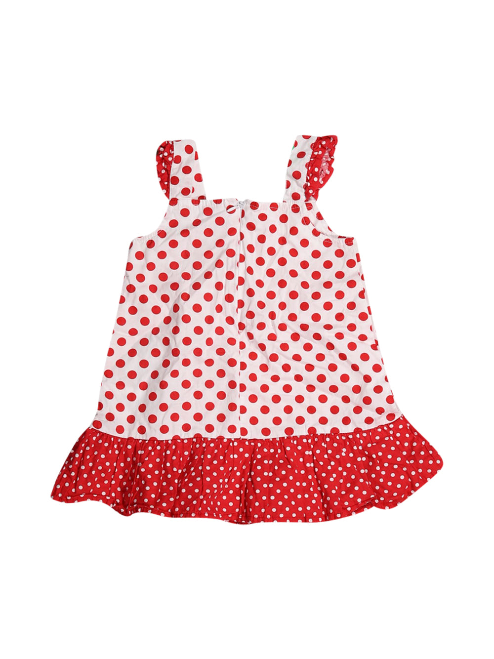 Back photo of Preloved Disney White Girl's dress - size 12-18 mths