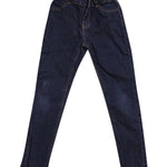 Front photo of Preloved l&h Blue Girl's trousers - size 5-6 yrs
