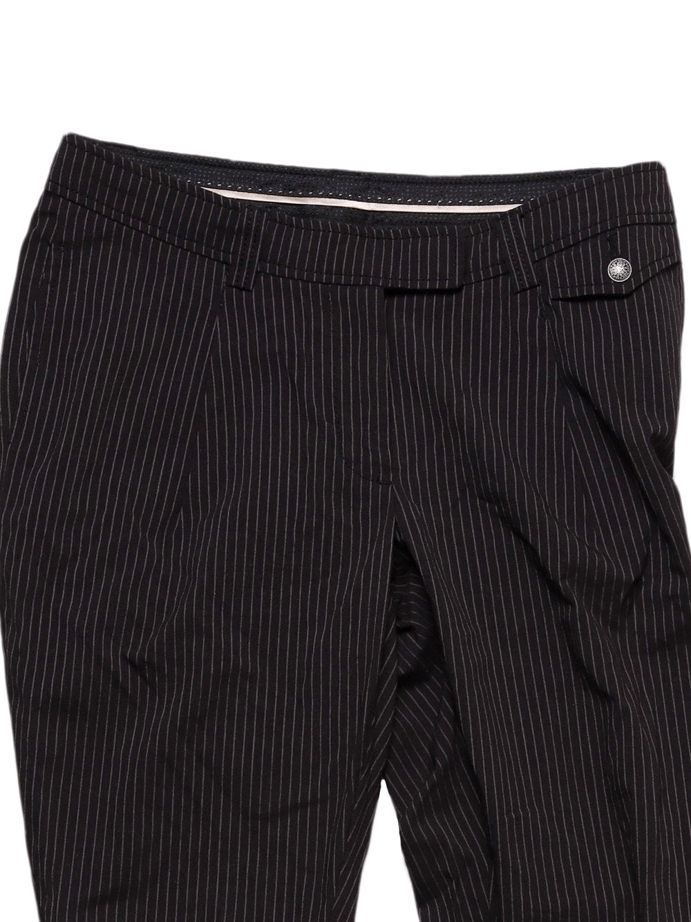 Detail photo of Preloved Stefanel Black Woman's trousers - size 12/L