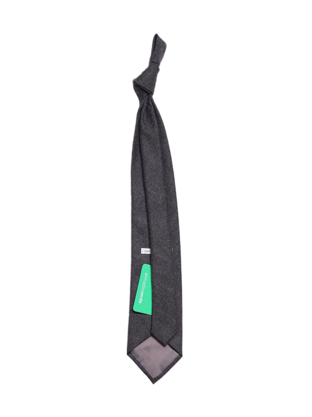 Back photo of Preloved savino & sons Grey Man's tie - size one-size