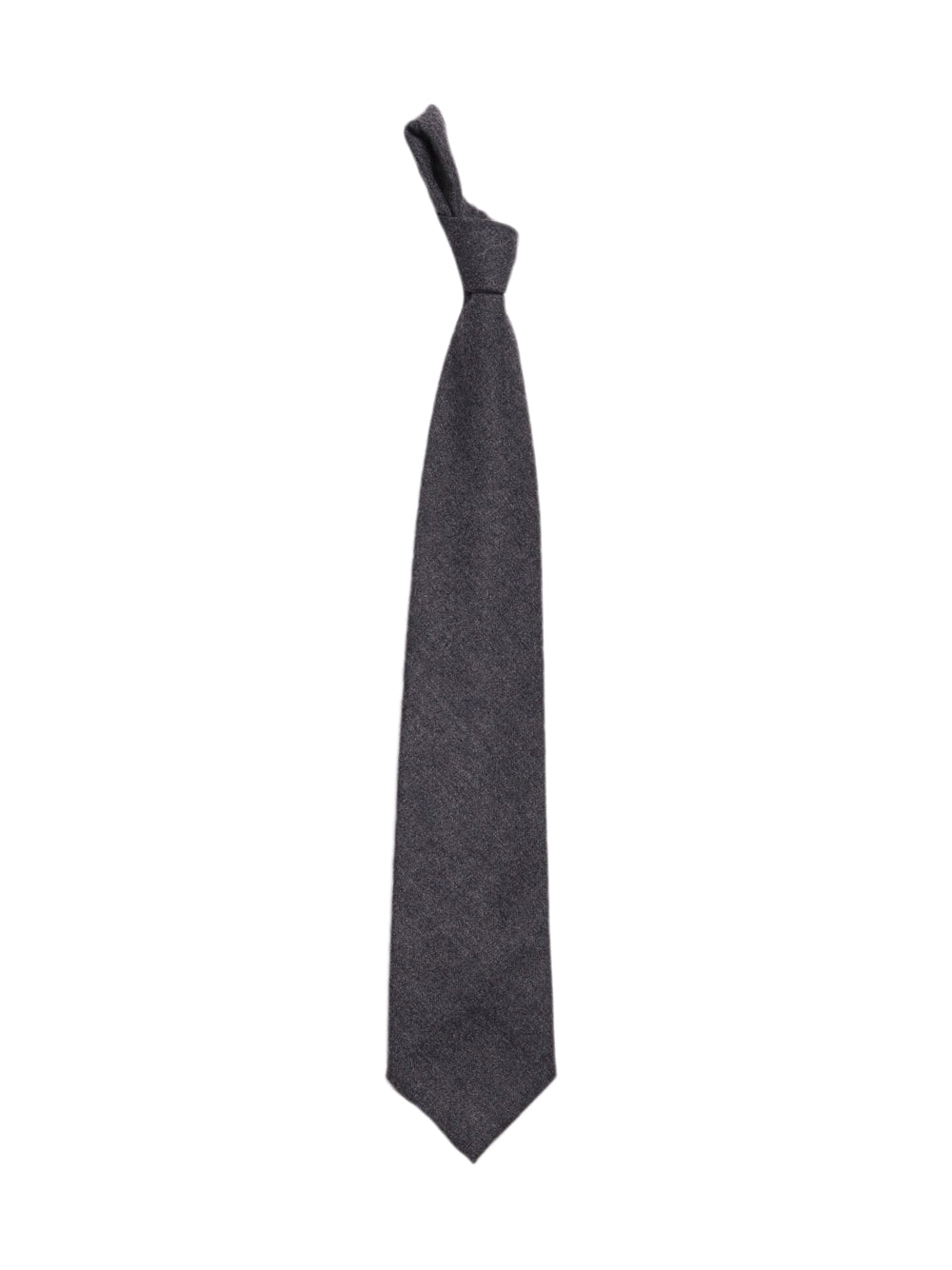 Front photo of Preloved savino & sons Grey Man's tie - size one-size