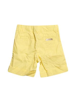 Back photo of Preloved Pinko Yellow Girl's shorts - size 3-4 yrs