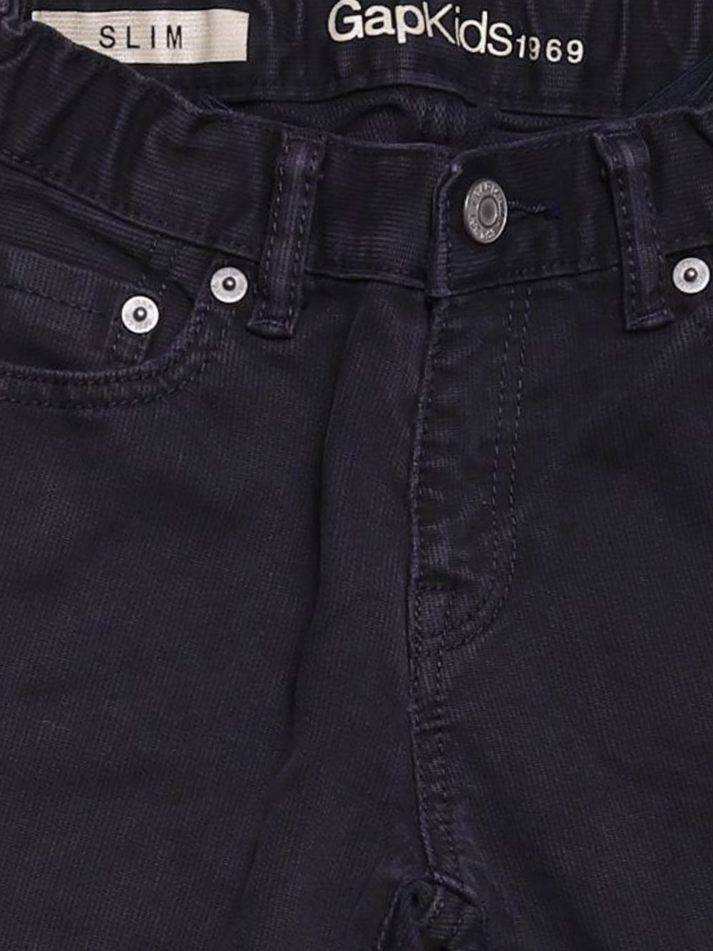 Detail photo of Preloved Gap Black Girl's trousers - size 5-6 yrs