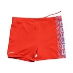 Back photo of Preloved endurance Red Boy's swimsuit - size 18-24 mths