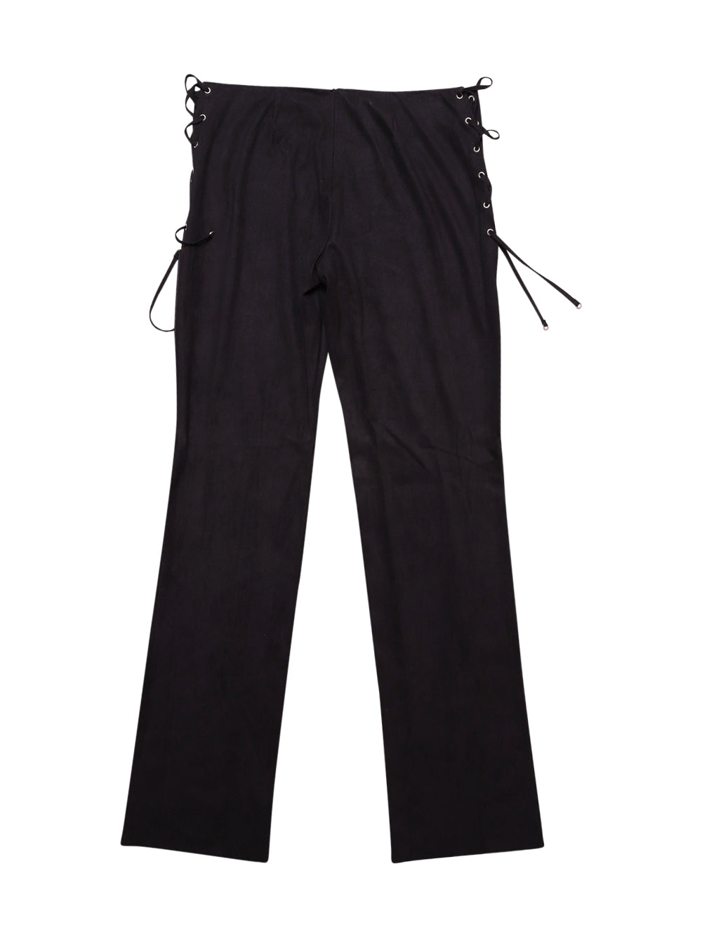 Back photo of Preloved Paola Frani Black Woman's trousers - size 12/L