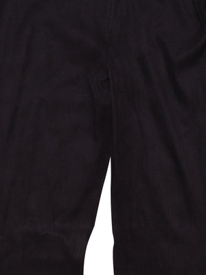 Detail photo of Preloved Paola Frani Black Woman's trousers - size 12/L