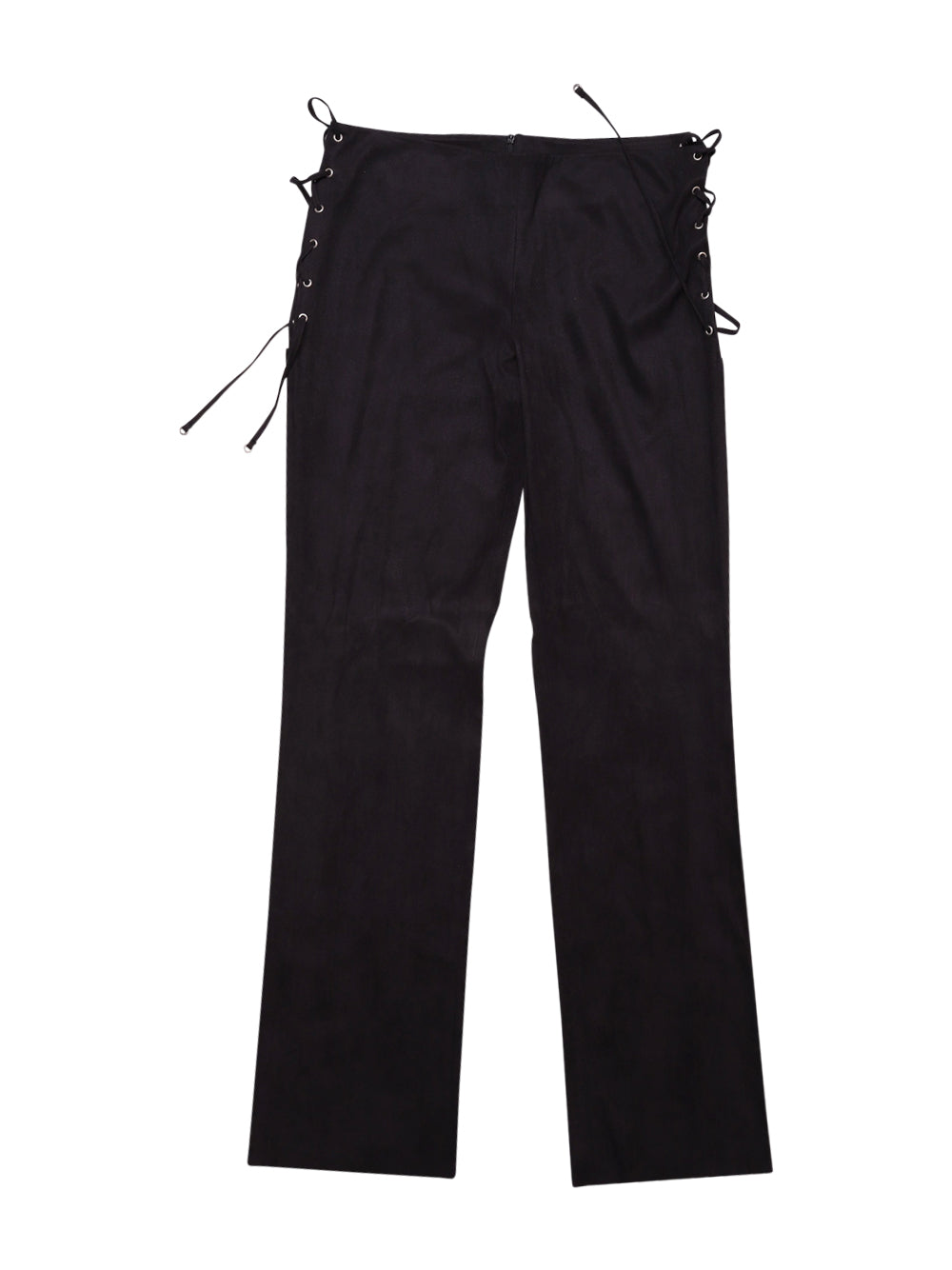 Front photo of Preloved Paola Frani Black Woman's trousers - size 12/L