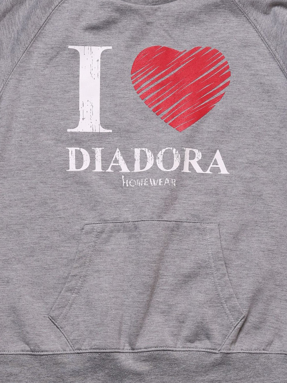 Detail photo of Preloved Diadora Grey Woman's sweater - size 8/S