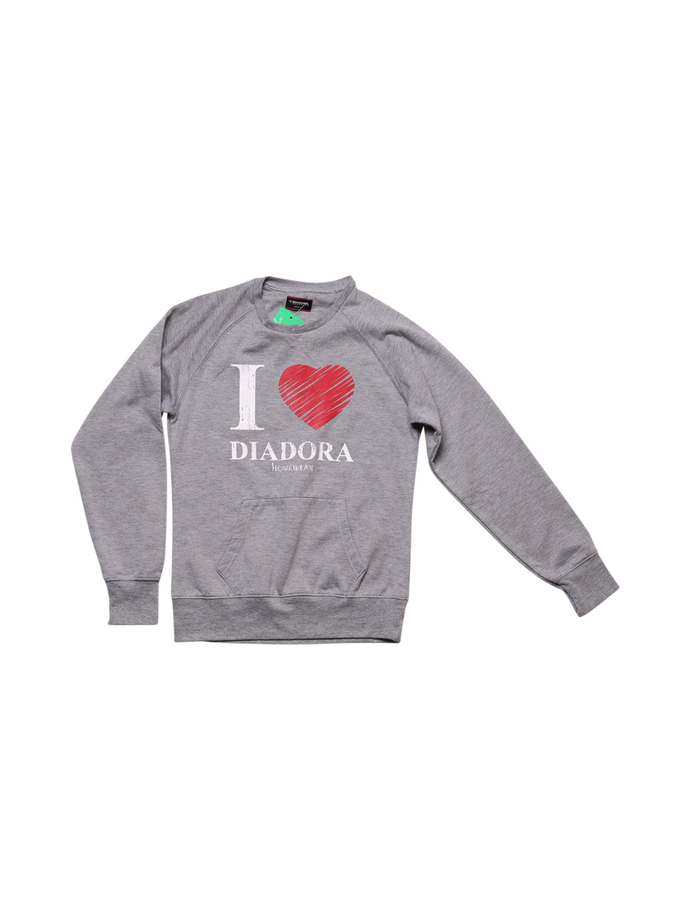 Front photo of Preloved Diadora Grey Woman's sweater - size 8/S