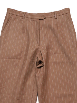 Detail photo of Preloved valentini Beige Woman's trousers - size 10/M