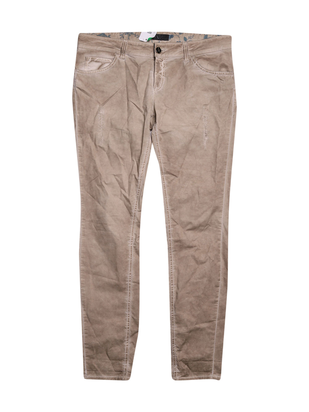 Front photo of Preloved Relish Beige Woman's trousers - size 14/XL