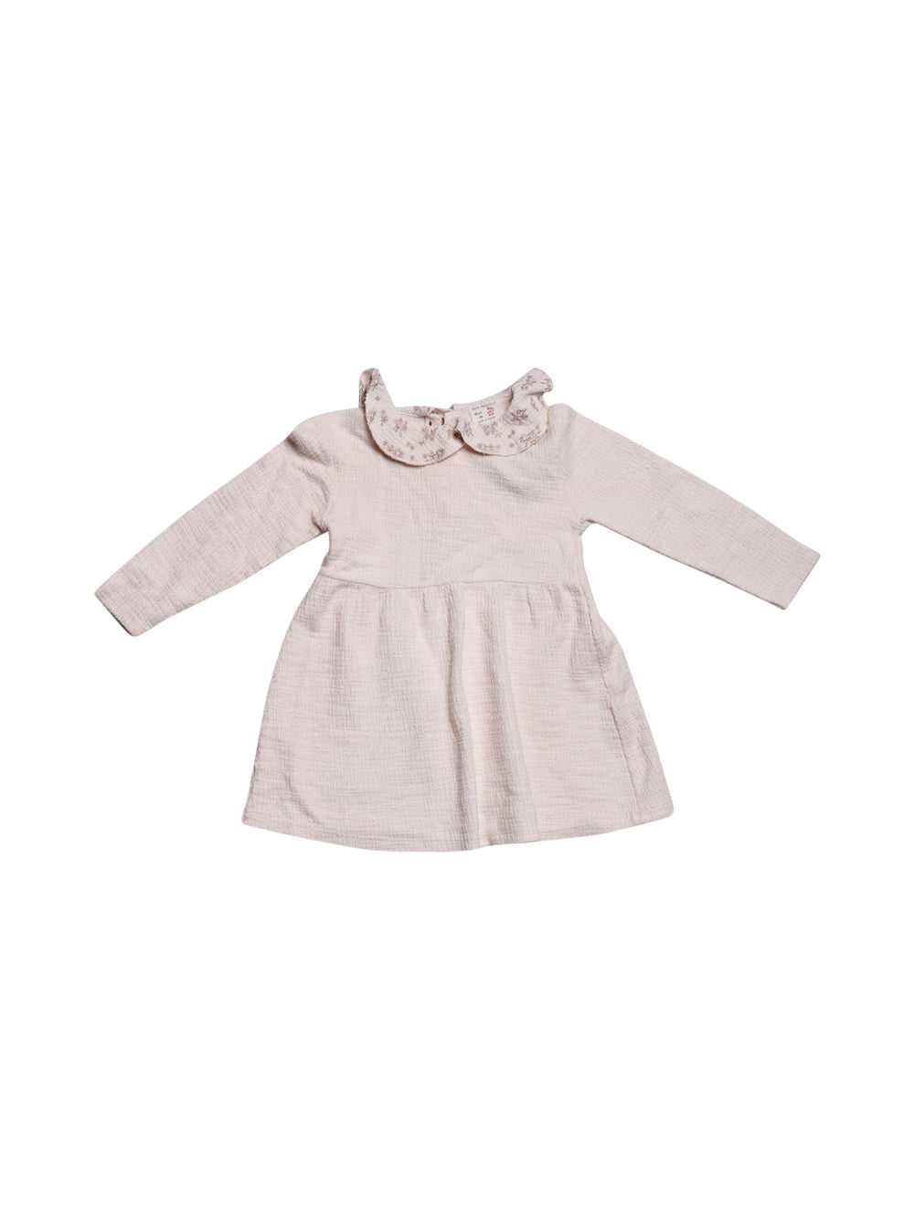 Front photo of Preloved Zara White Girl's dress - size 3-4 yrs