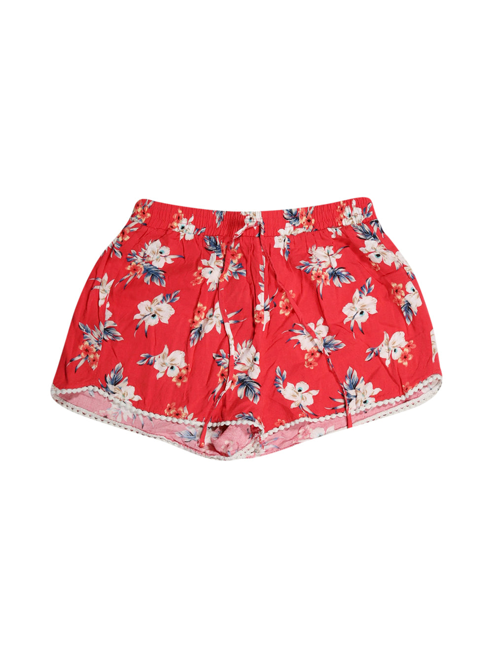 Front photo of Preloved Hollister Red Woman's shorts - size 8/S