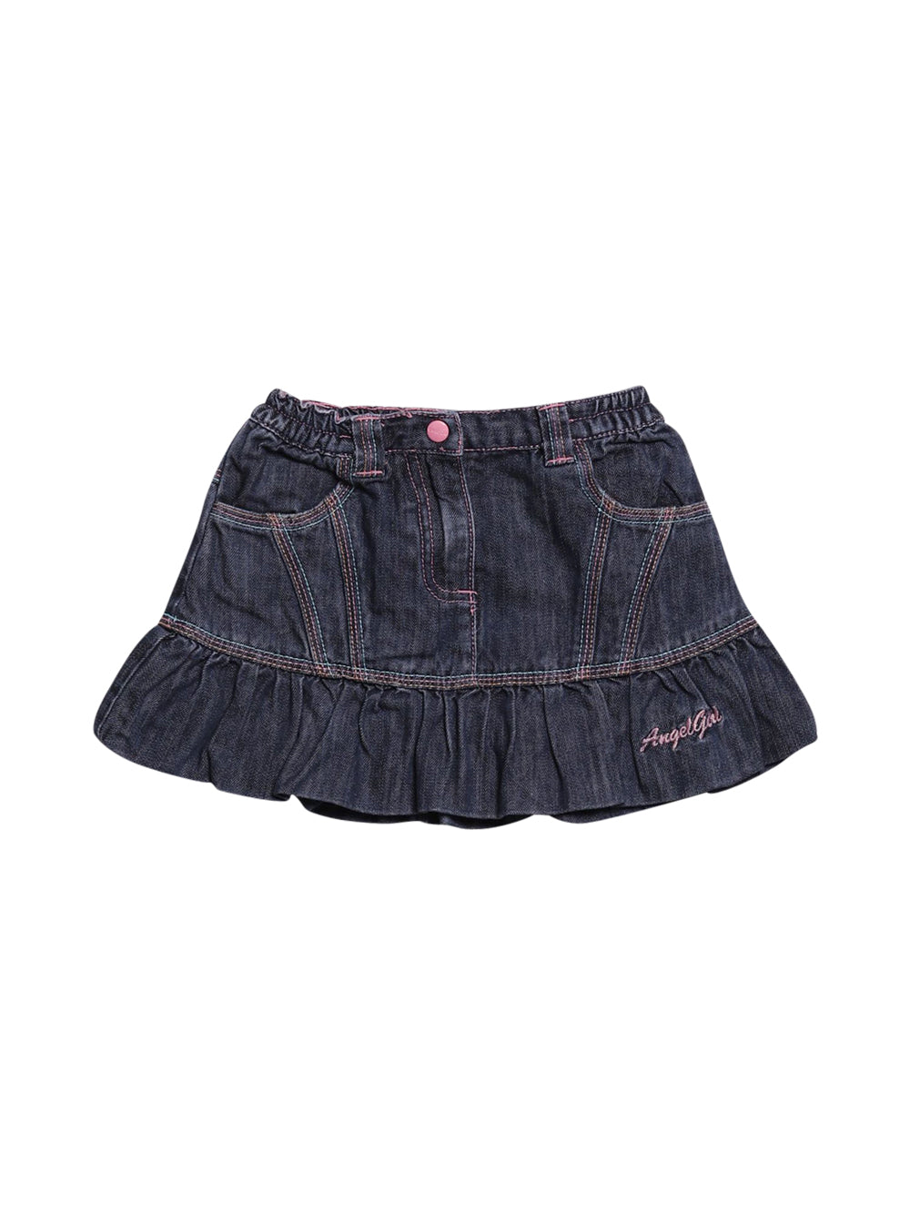 Front photo of Preloved Chicco Blue Girl's skirt - size 18-24 mths