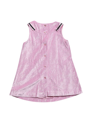 Back photo of Preloved Chicco Pink Girl's dress - size 18-24 mths