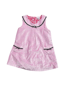 Front photo of Preloved Chicco Pink Girl's dress - size 18-24 mths