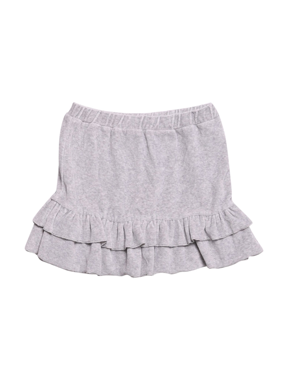 Front photo of Preloved Disney Grey Girl's skirt - size 7-8 yrs