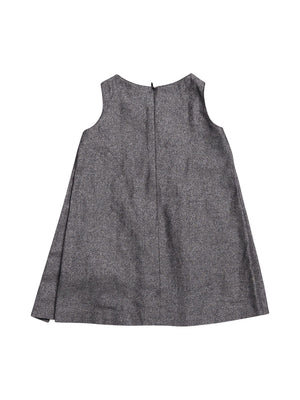 Back photo of Preloved Ermanno Scervino Grey Girl's dress - size 3-4 yrs